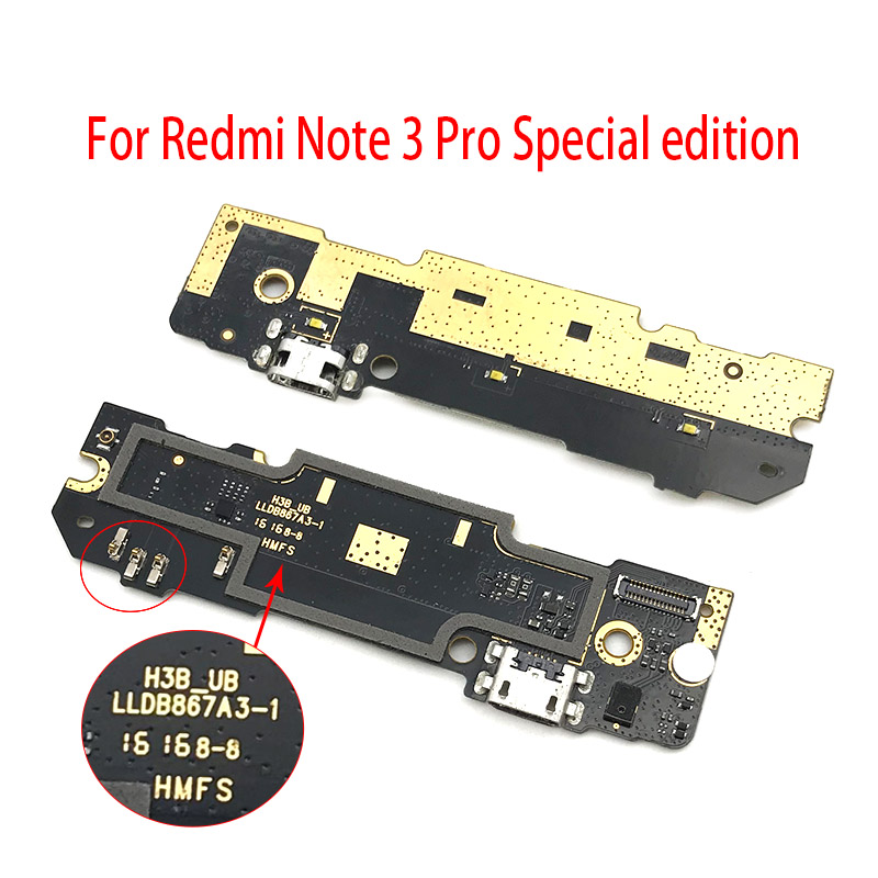 For Xiaomi Redmi Note 3 4 5 5A 6 7 Pro USB Dock Connector Charging Port Flex Cable Power Charger For Redmi Note 3 Pro SE 152mm