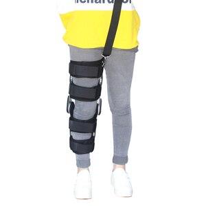 Image 2 - Khớp gối hỗ trợ góc có thể được điều chỉnh, tác cố định, ổn định gãy xương hỗ trợ, bong gân, xương đùi điều chỉnh.