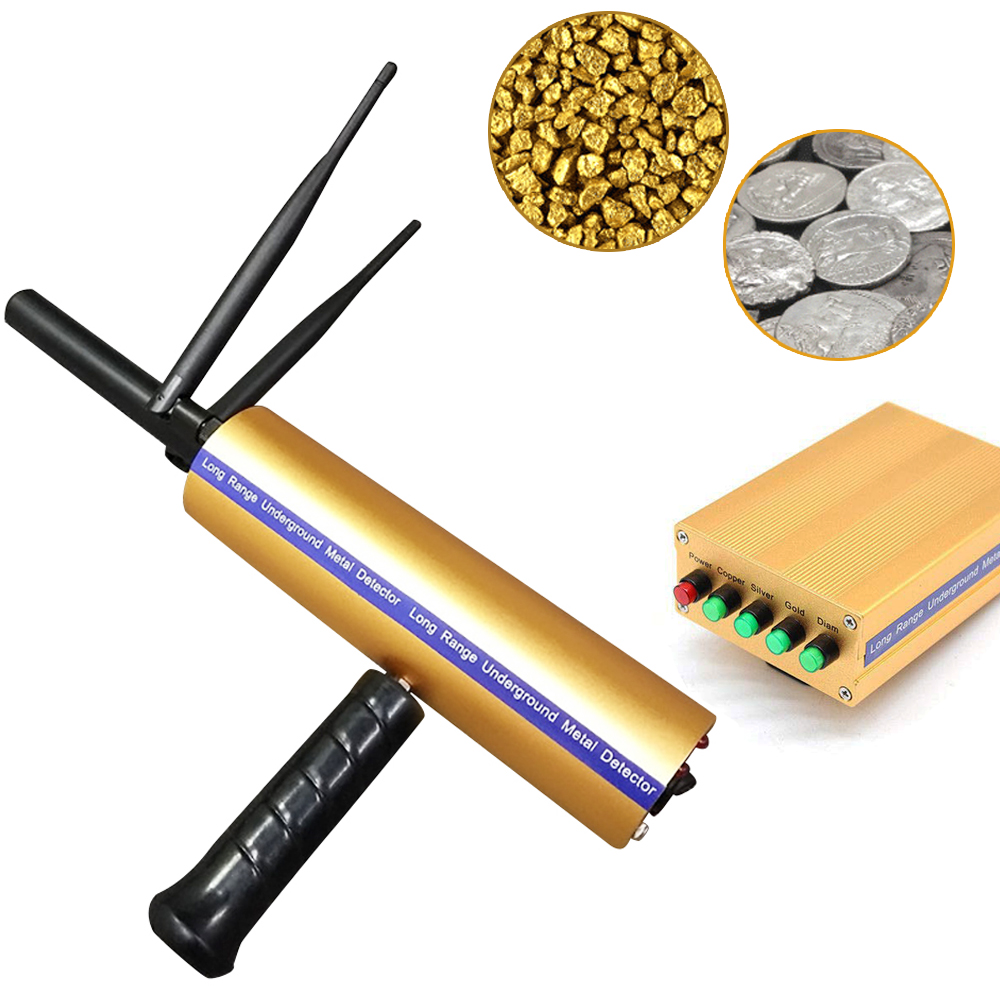 Long Range Copper Underground AKS 3D Metal Detector Diamond Gold Silver Precious Stones Intelligent Machinery Detect