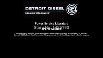 Detroit Diesel Power Service Literature On-Highway DVD 2008