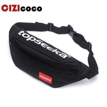 цена на Casual Men Waist Bags Women Shoulder Bag Pouch Travel Belt Bag Fashion Unisex Waist Pack Men Waterproof Fanny Pack