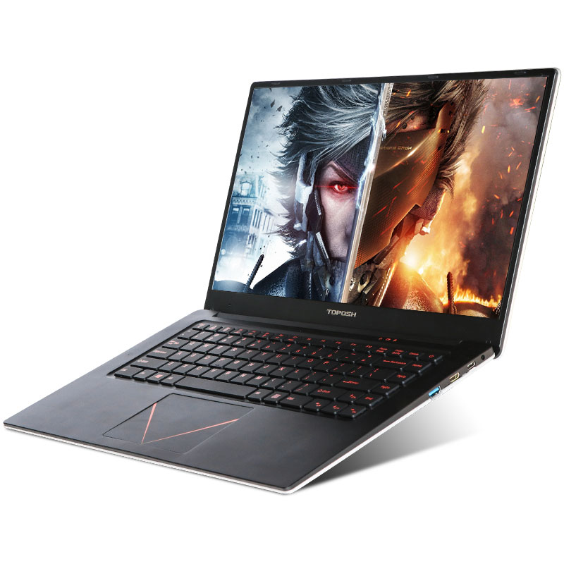 High speed 15.6 inch Intel J3455 Quad Core GF920M 6GB DDR3 Windows 10 2G alone Graphics card Laptop Notebook Computer