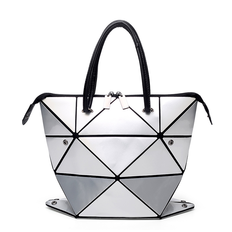 Hot Sale BaoBao Bag Folding Fashion Shoulder Handbags Bao Bao Fashion Casual Women Tote Top Handle Bags High Quality hot sale 2016 france popular top handle bags women shoulder bags famous brand new stone handbags champagne silver hobo bag b075