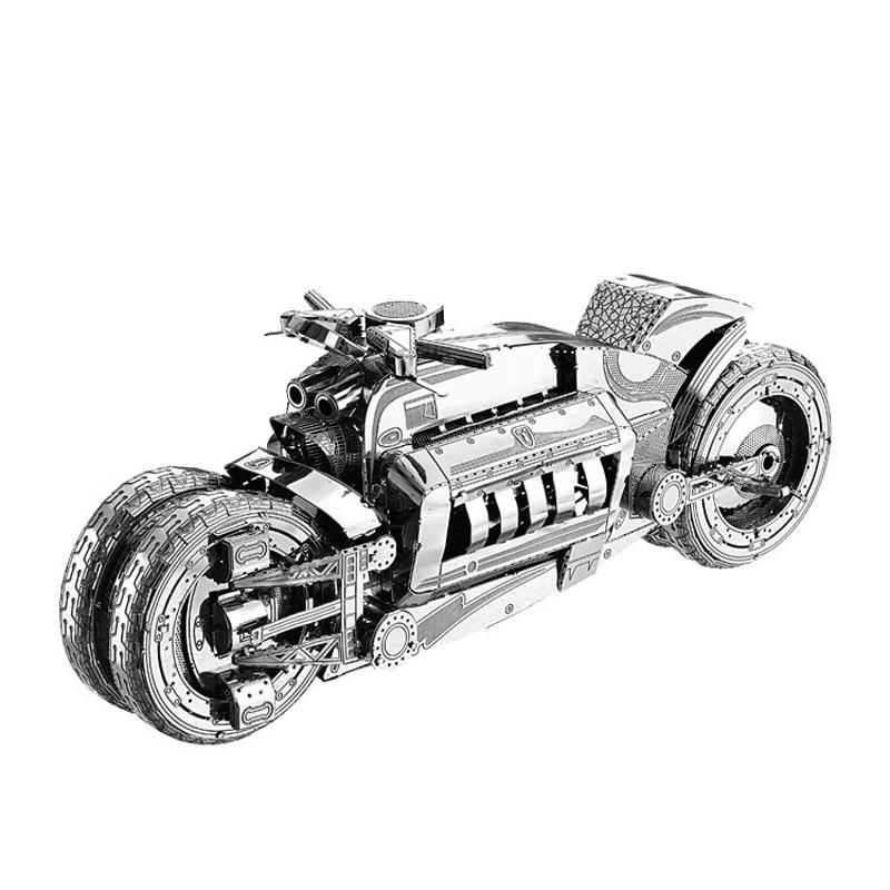 2018 Nan yuan 3D Metal Puzzle Concept Motorcycl DIY Laser Cut Puzzles - Juegos y rompecabezas - foto 1