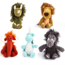 Puppy Honking Squirrel for Dogs Cat Chew Squeaker Squeaky Toy Dog Toys Stuffed Squeaking Plush Sound Animals Pets