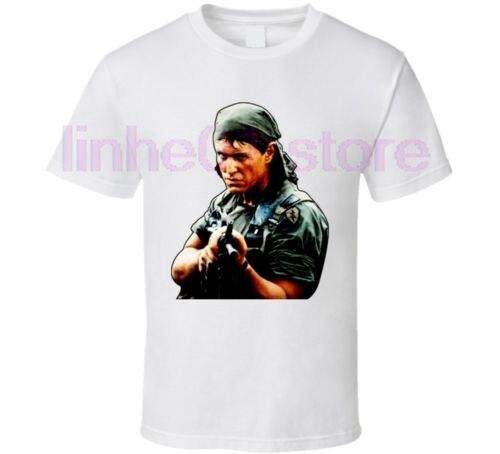 Gildan Platoon Barnes Army Movie T Shirt