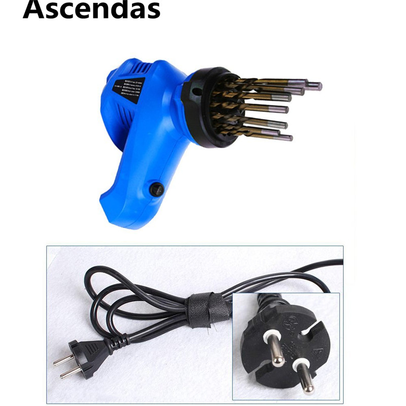 2018 Hot Sale 95W Drill Sharpener Lion Head Shape Electric Drill Bit Sharpener For Grinding Drill Size 3~12mm EU Plug TP-082 electric multifunction knife sharpening sharpener grinding knife drill sharpener electric drill bit sharpener