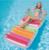 2016 Novo Ao Ar Livre Mobiliário 198*94 cm Inflável Flutuadores De Água Salão Flutuante Natação Cama Dobrável Relaxar Cama De Água Flutuante cadeira