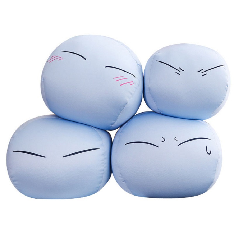 Cute Anime Tensei Shitara Slime Plush Doll Datta Ken Mascot Toy Stuffed Toys Bed Cushion Pillow Xmas Gifts                      Cute Anime Tensei Shitara Slime Plush Doll Datta Ken Mascot Toy Stuffed Toys Bed Cushion Pillow Xmas Gifts