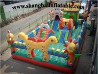 Funny Playground Big Trampolines Kids Playground Equipment Children Amusement Park