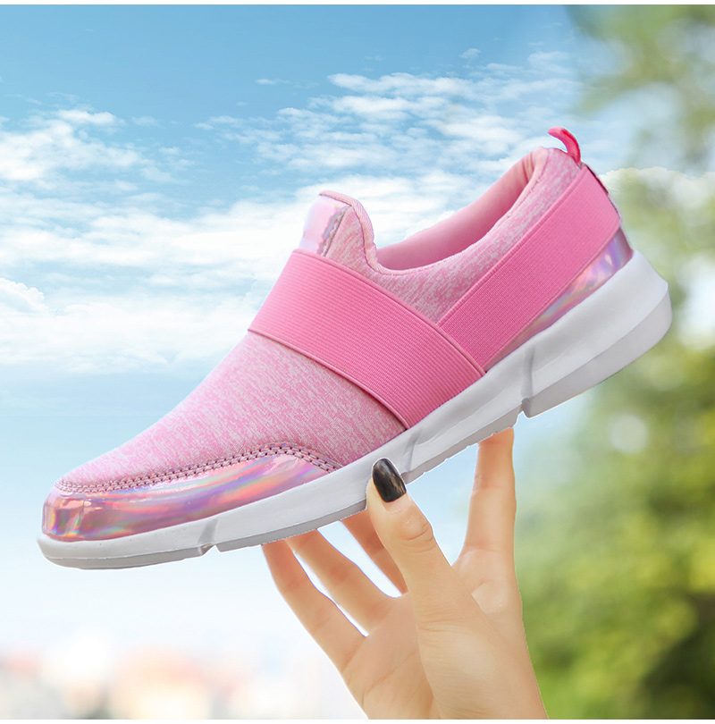 HTB1ytZ0J25TBuNjSspcq6znGFXaW Spring Autumn Women Slip On Loafers Ladies Casual Comfortable Flats Female Breathable Stretch Cloth Shoes Fashion Zapatillas