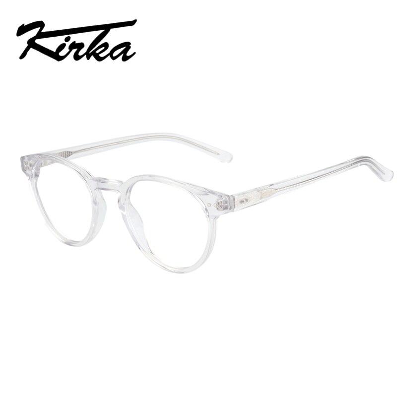 Bekleidung Zubehör Kirka Transparente Gläser Frauen Rahmen Brillen Runde Brille Transparente Myopie Gläser Kreis Spektakel Rahmen Für Frauen Mit Einem LangjäHrigen Ruf