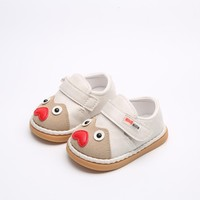 Bavoirsj Outono Nova Chegada Coração Vermelho Bonito Olhos Encantadores Das Meninas Dos Meninos Da Criança Sapatos Para Crianças Primeiros Caminhantes