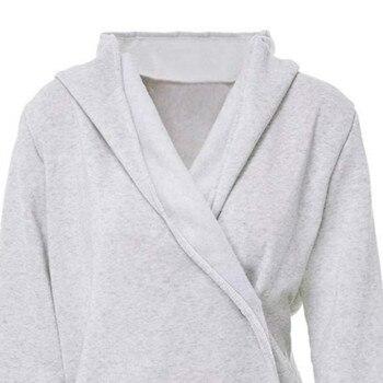 49 piezas mujeres de botón bufanda Color sudadera abrigos tres ...