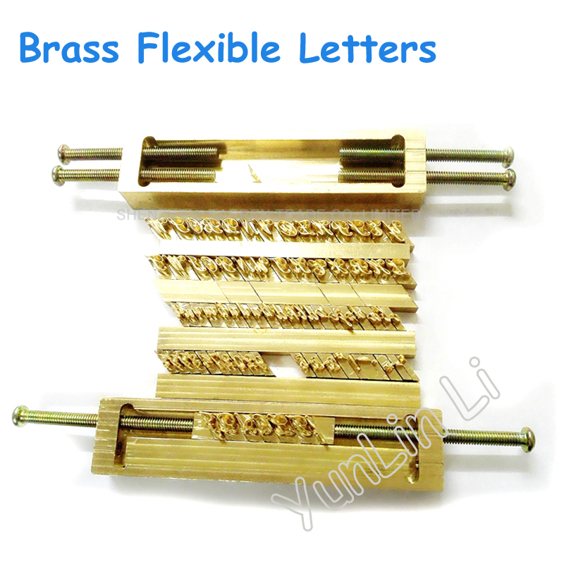 Brass Flexible Letters CNC Engraving Mold ,Hot Foil Stamping Machine,number,symbol customization font,Character mold brass flexible letters cnc engraving mold hot foil stamping machine symbol customization font