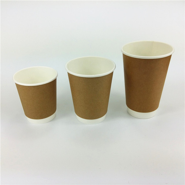 e48311a6ffc custom logo printed paper coffee cup double wall paper cup disposable hot  drink cup 4oz 8oz 12oz 16oz 20oz MOQ 30000PCS