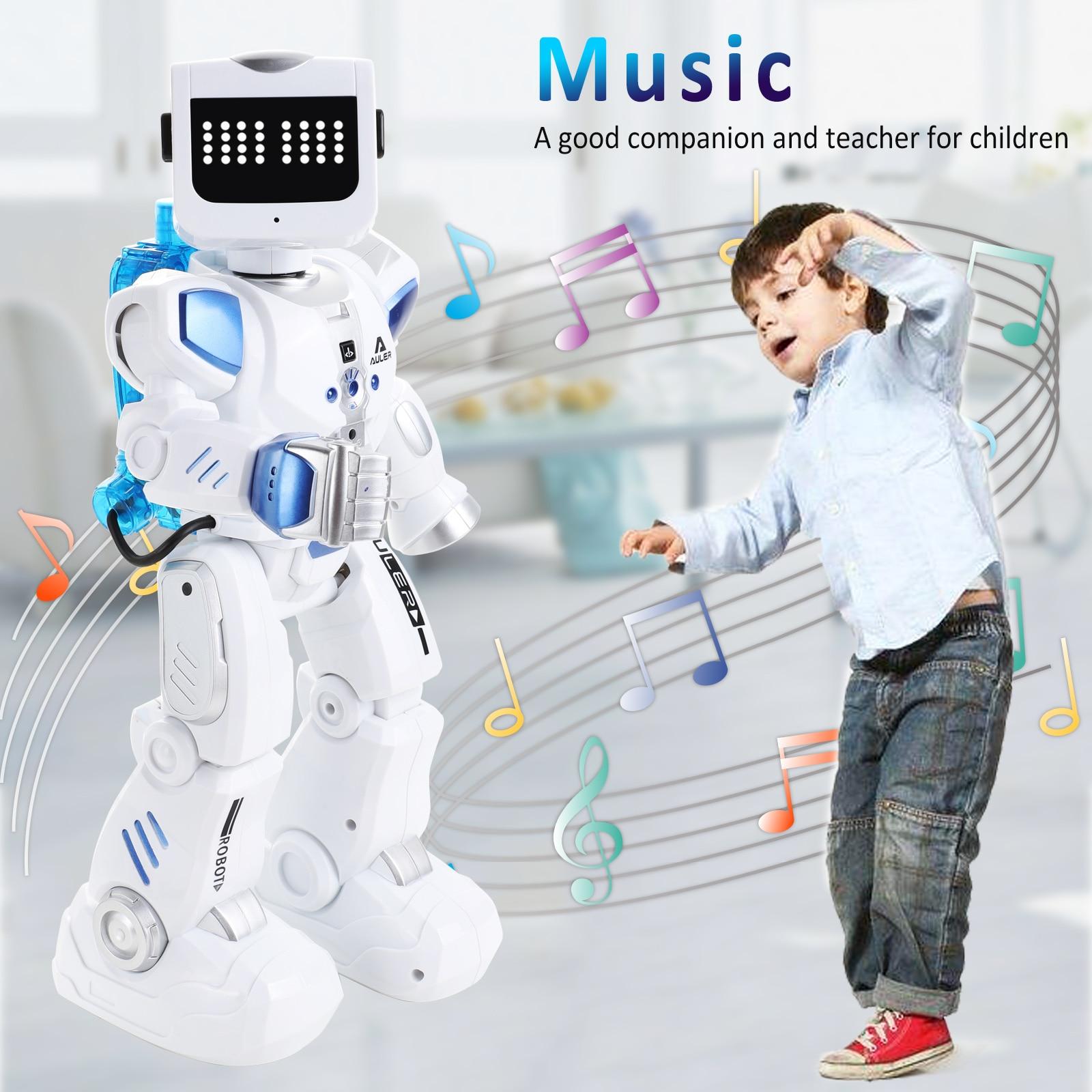 K3 Robot Intelligent Intelligent Alpha Robot RC/contrôle du son chantant danse Robot Intelligent hybride hydroélectrique