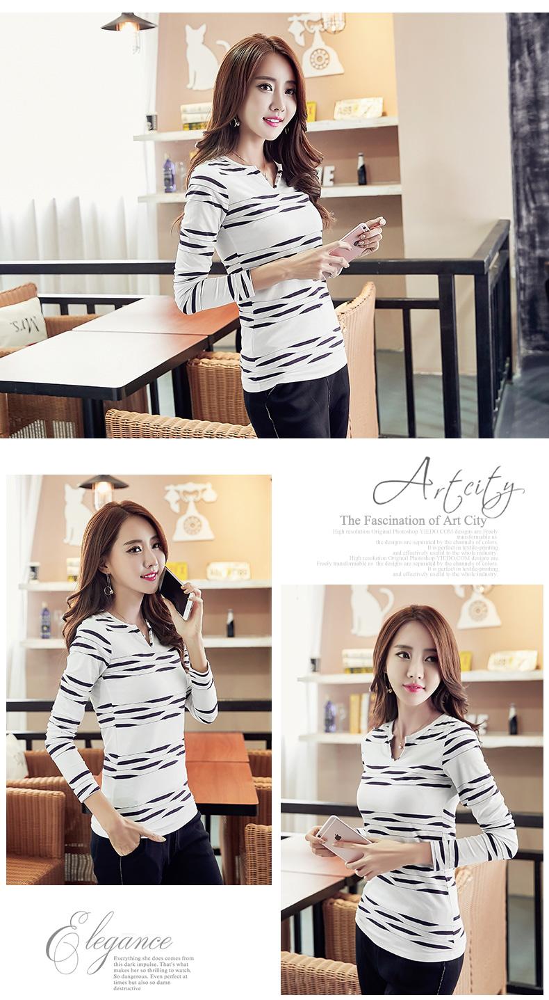 HTB1yt SSpXXXXalXFXXq6xXFXXX1 - 2017 Autumn Winter Korean T-shirts For Women Cotton Fashion T Shirt