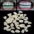 100 pcs Materiais Dental Temporária Crown Resina Porcelana Anterior Sombra Dentes Dente Molar Folheados Provisórios Ultra-Fino