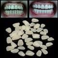 100 unids Dental Temporal Corona de Porcelana Resina Materiales Anterior Sombra Dientes Diente Molar Carillas Provisionales Ultra-Delgado
