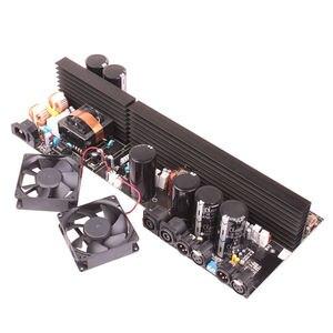 Image 4 - Amplificador de potência profissional de 2 canais, amplificador mosfet 2*4150 relógios, estéreo, série d, conjunto de linha tule, play, 1500