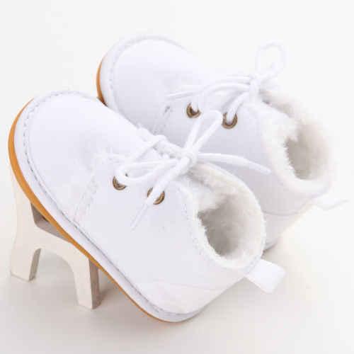 Helen115 Обувь На Шнуровке Для новорожденных мальчиков и девочек ботинки для малышей 0-18 месяцев
