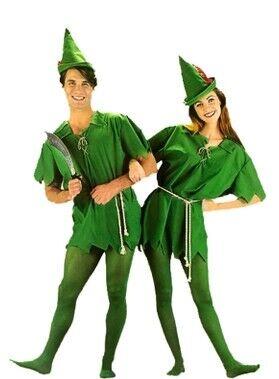 Green Elf Green Robin Peter Pan Child Adult Peter Pan Green Man Peter Pan Clothing Socks Free Shipping