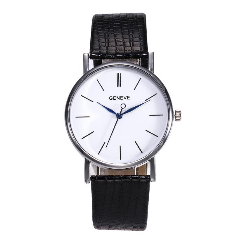 Watch montre femme  Fashion Glass Luxury Watches Women  Leather Strap Ladies   Women Watches relojes para mujer   18JUL12