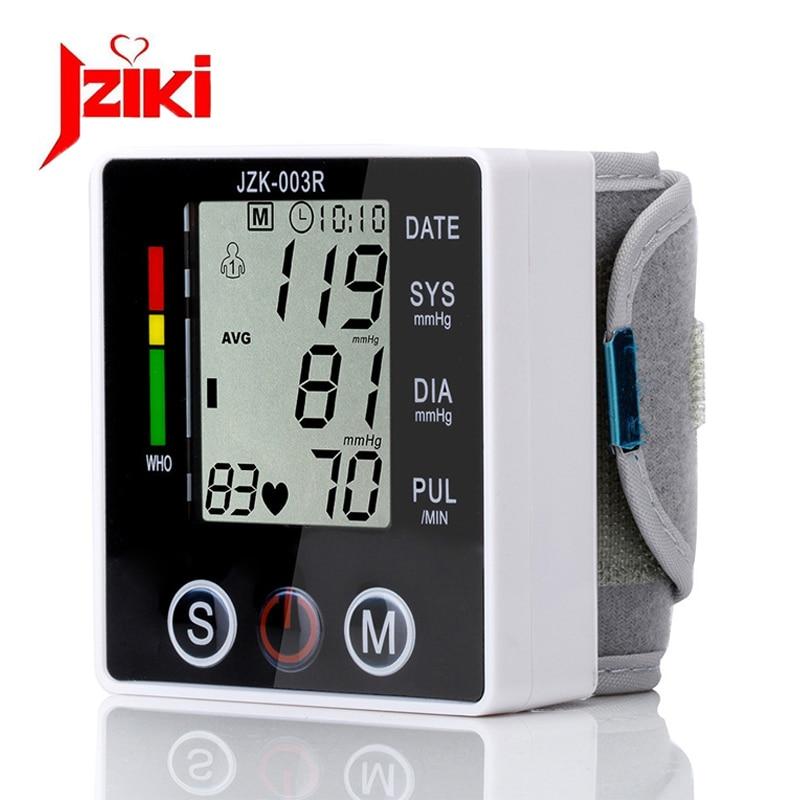 Health Care Digital Blood Pressure Monitor Wrist Tonometer Automatic Sphygmomanometer BP Blood Pressure Meter Pulse Oximeter