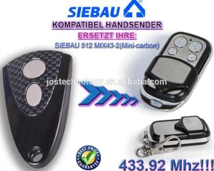 SIEBAU 512 MIX43-2 MINI-CARBON 433mhz replacement remote control alltronik replacement remote s429 1 433mhz s429 2 433mhz s429 4 433mhz s429 mini 433mhz