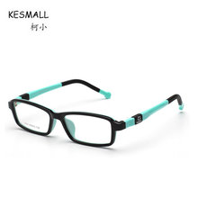 KESMALL 2017 New Children Square Shaped Glassses Frame Black Boys Girls Fashion Optical Spectacle Frames Gafas De Lectura XN209