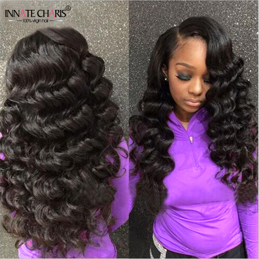 Loose Wave Brazilian Vigin Hair Bundles 3pcs Unprocessed