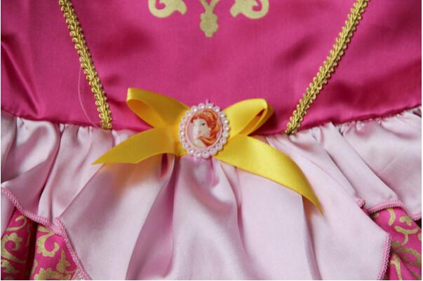 DB23655 Children Girl princess sofia dress-18