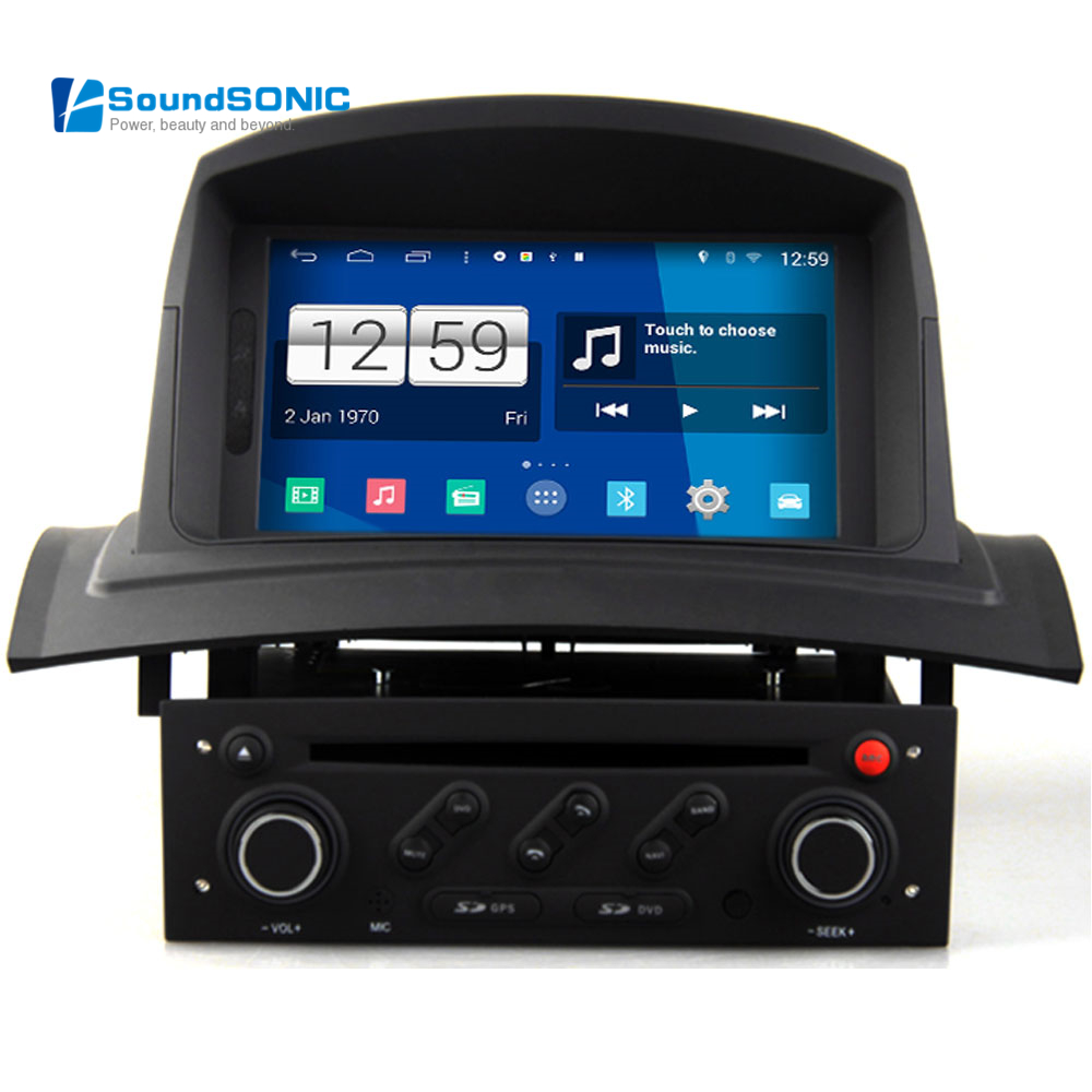 for renault megane 2 ii fluence android 4 4 4 car dvd gps navigation auto radio stereo central. Black Bedroom Furniture Sets. Home Design Ideas