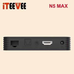 Image 4 - Magicsee N5 ماكس Amlogic S905X3 أندرويد 9.0 صندوق التلفزيون 4G 32G/64G Rom 2.4 + 5G المزدوج واي فاي بلوتوث 4.0 صندوق ذكي 4K مجموعة صندوق فوقي