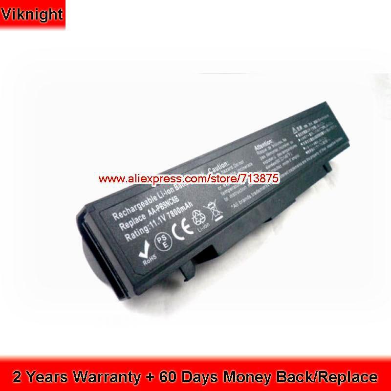 11.1V 7800mAh AA-PB9NS6B Battery for Samsung RC530 Laptop RV520 R540 RF711 RV511 RC720 NP300 AA-PB9NC6B 9 cell 7800mah laptop battery for samsung r718 r720 r728 r730 r780 rc410 rc510 rc710 rf411 rf511 rf512 rf711 rv409 rv520 x360