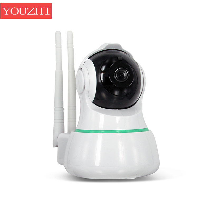 1.0MP IP Camera WiFi Wireless 110 Degree Night Vision IR-Cut Motion Detection Support 128G Home Security Baby Monitor YOUZHI howell wireless security hd 960p wifi ip camera p2p pan tilt motion detection video baby monitor 2 way audio and ir night vision