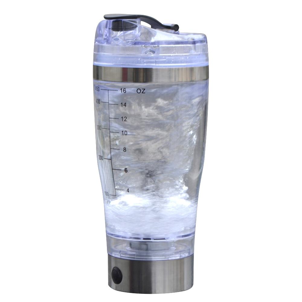 Vonkka 450ml Smart Protein Shaker Creative Drinking Drinkware Electric Automatic Vortex Tornado My Water Bottle With