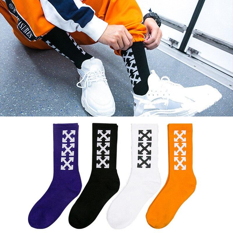 Underwear & Sleepwears Trend Mark Fashion Funny Socks Man Cute Novelty Street Style Hip Hop Socks Men Cotton Casual Tube Socks For Male Streetwear Meias Sokken Customers First