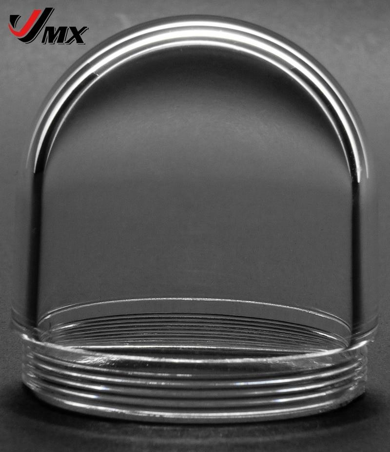 JMX 1,5 Zoll WEBCAM Klare Kamera-Kuppelabdeckung IP-Kamera-Kuppelgehäuse