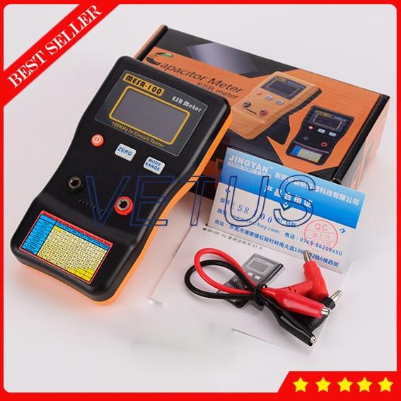 High Precision ESR Tester MESR-100 Professional Resistance Capacitor Circuit Meter катушка нахлыстовая kola salmon air 1012 gray