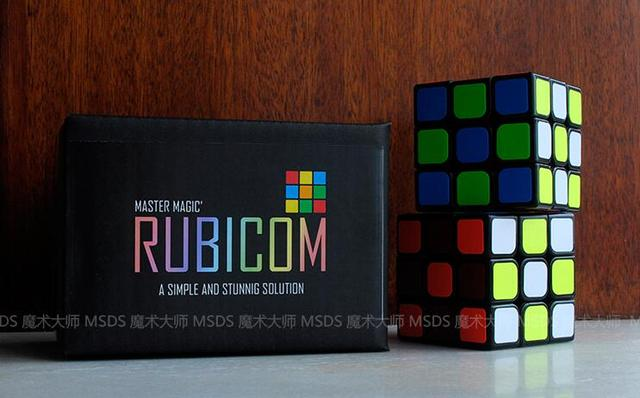 Free shipping RUBICOM by Gregory W (Gimmick+online instruct) Stage Magic Trick,Illusion,Comedy