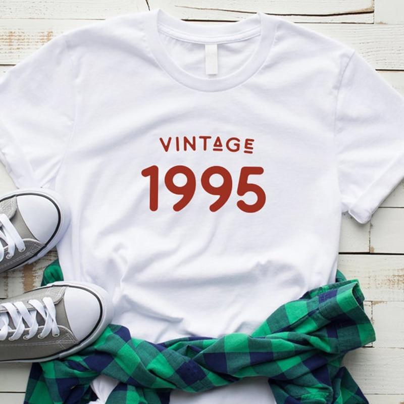 RETRO 1995 ALL ORIGINAL PARTS Mens Cotton Birthday T-Shirt