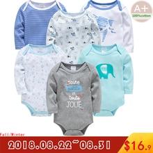 a501968d7f 2018 outono bebê menino roupas de algodão luva cheia de roupas de bebê  menino roupa interior 3 6 9 12 18 24 meses newborn bebê r.