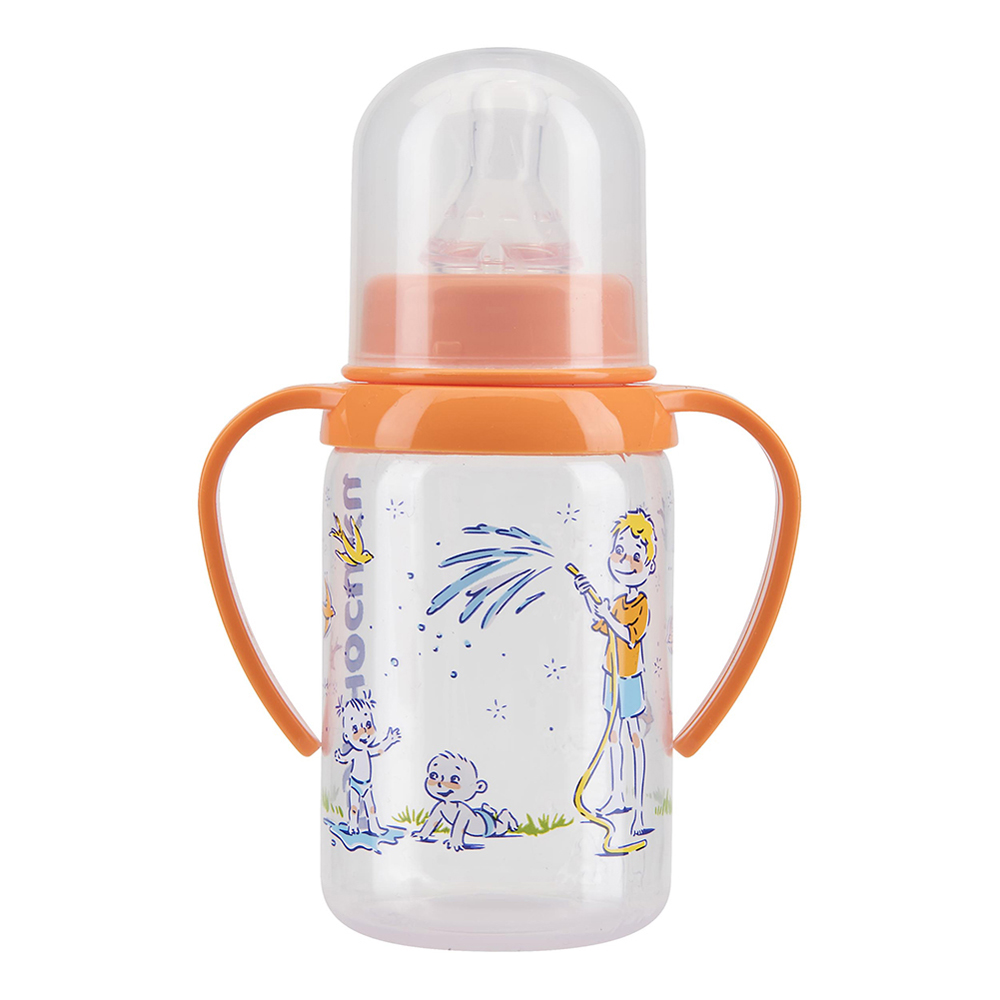 Bottles KURNOSIKI for girls and boys 11140 Bottle Feeding Cup Baby With straw plastic bottle 30ml pet clear bottle empty pet bottles e liquid e cig plastic dropper bottles with childproof cap