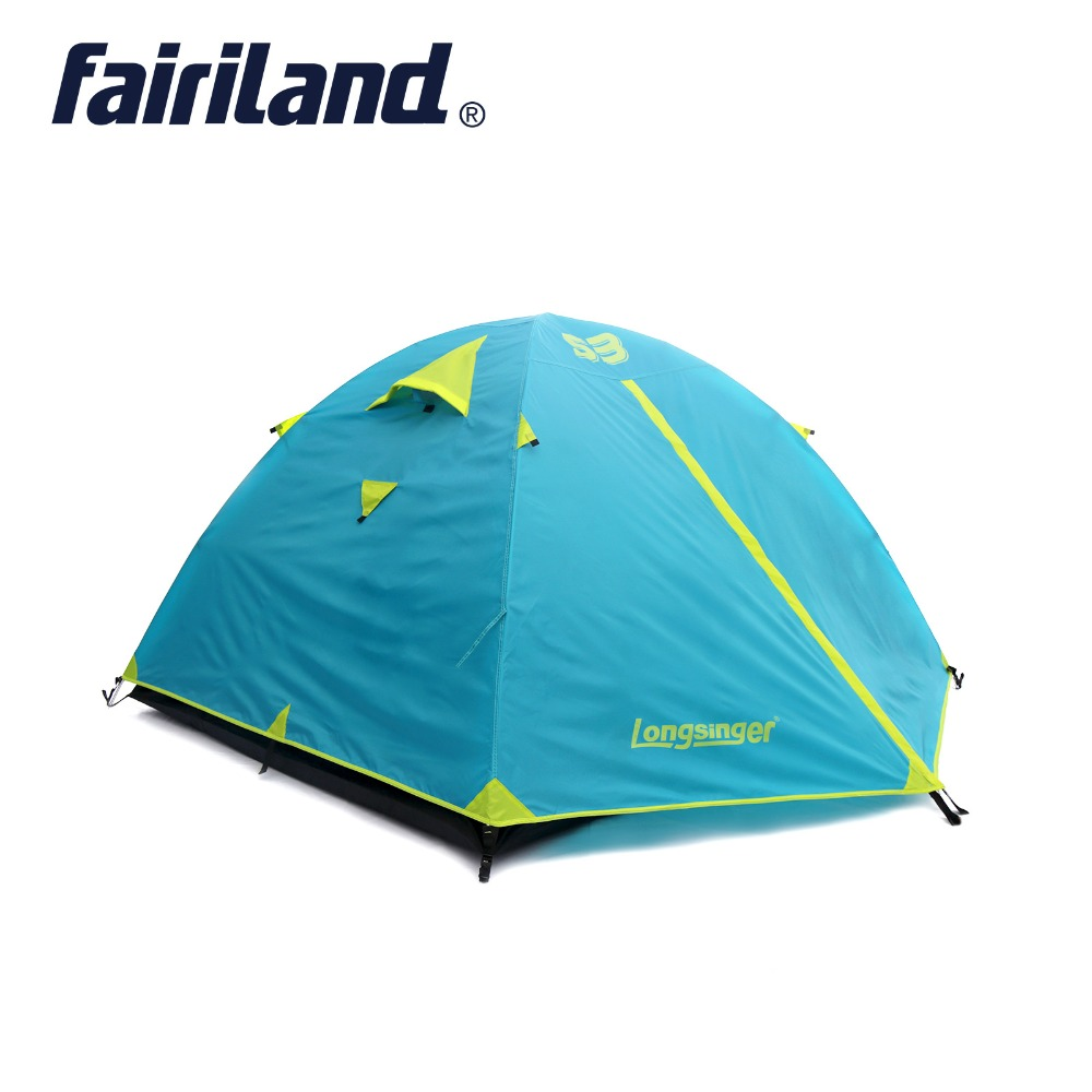 Outdoor Camping Tent Hiking Beach Tent Waterproof Double Layer 3 person Tourist bedroom travel 2018 barraca tenda 308*215*128cm beibehang mediterranean blue vertical stripes wallpaper minimalist living room background wallpaper modern den papel de parede