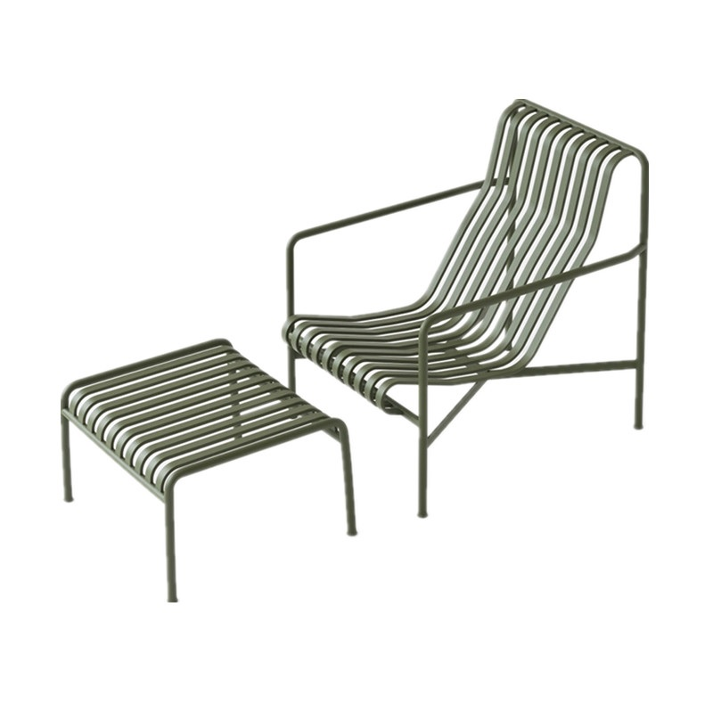Garden Chairs Set / Metal Table For Outdoors