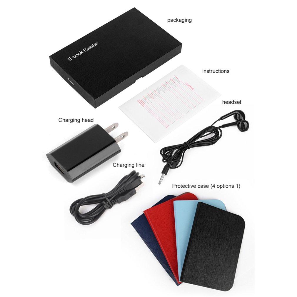 BK6006 HD 6 pouces 4G/8G/16G lecteur d'ebook Ereader lecteur de livre Comfortlight Pro - 6