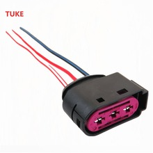 New Fuse Box Connector 3 Pin Plug Cable For VW Beetle Bora Jetta MK4 Golf_220x220 fuse box connectors reviews online shopping fuse box connectors fuse box connectors at eliteediting.co