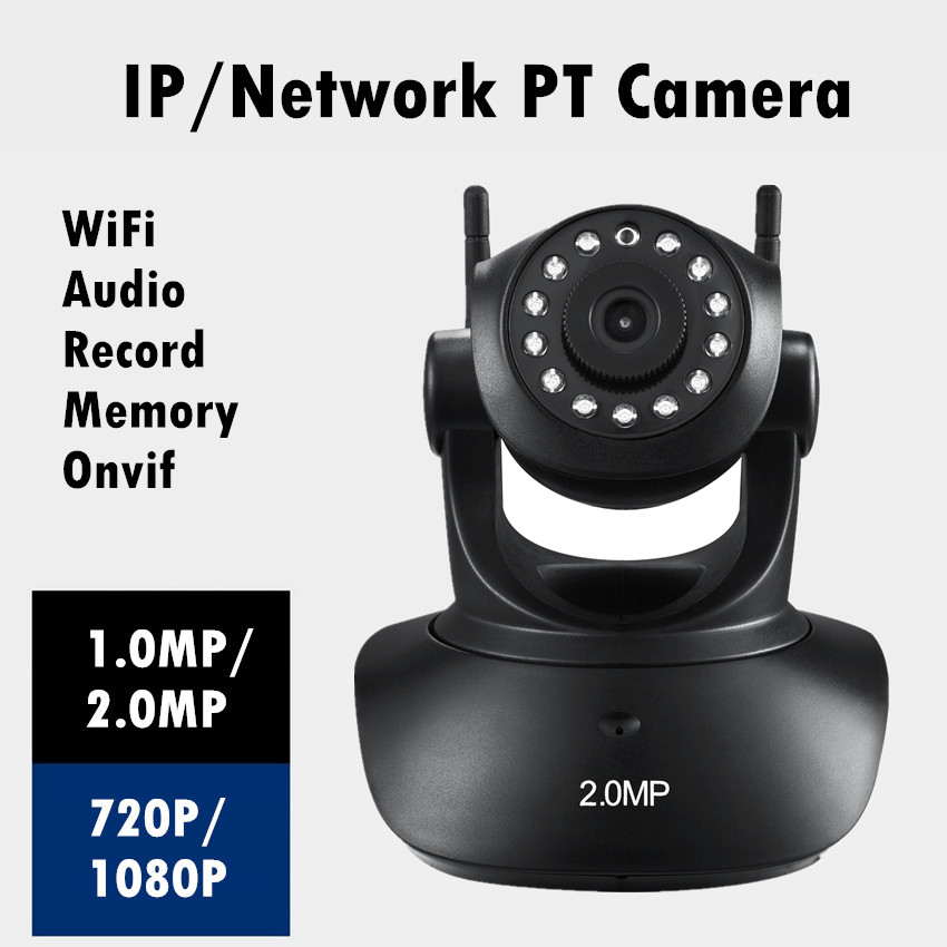 1080P/720P Security Network CCTV WIFI IP camera Megapixel HD Wireless Digital IR Infrared Night Vision  system Micro SD card wireless wifi 2mp 1080p hd ip camera with micro sd card slot onvif p2p indoor ir night vision motion detect network cctv camera